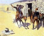 The Apaches by  Frederic Remington (Painting ID: GE-2019-KA)