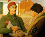 The Appraisal by  Grant Wood (Painting ID: AN-1554-KA)