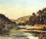 The Aqueduct in the Valley by  Jean Baptiste Corot (Painting ID: CO-0872-KA)