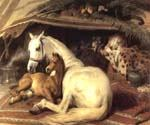 The Arab Tent by  Sir Edwin Henry Landseer (Painting ID: AN-2073-KA)