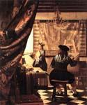 The Art of Painting by  Jan Vermeer (Painting ID: CM-1067-KA)