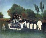 The Artillerymen by  Henri Rousseau (Painting ID: RO-0138-KA)