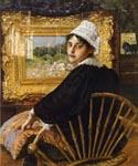 The Artist s Wife by  William Merritt Chase (Painting ID: ED-1401-KA)