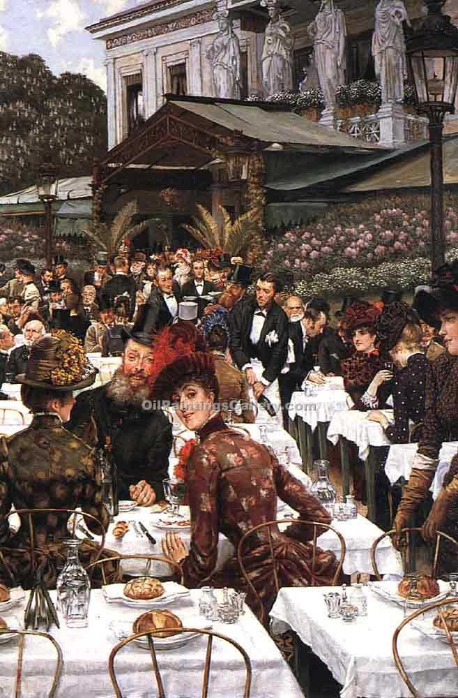 """The Artists Ladies"" by  James Tissot"
