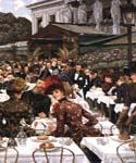 The Artists Ladies by  James Tissot (Painting ID: CL-4243-KA)