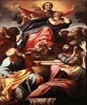 The Assumption of the Virgon by  Agostino Carracci (Painting ID: DA-2016-KA)