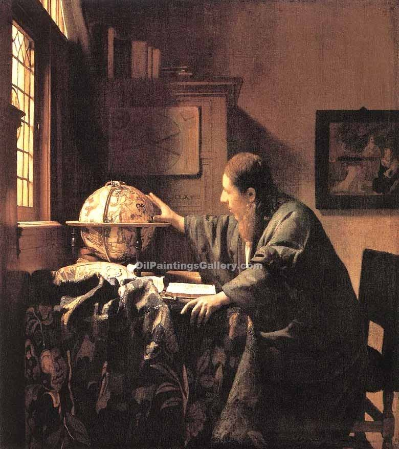 """The Astronomer"" by  Jan Vermeer"