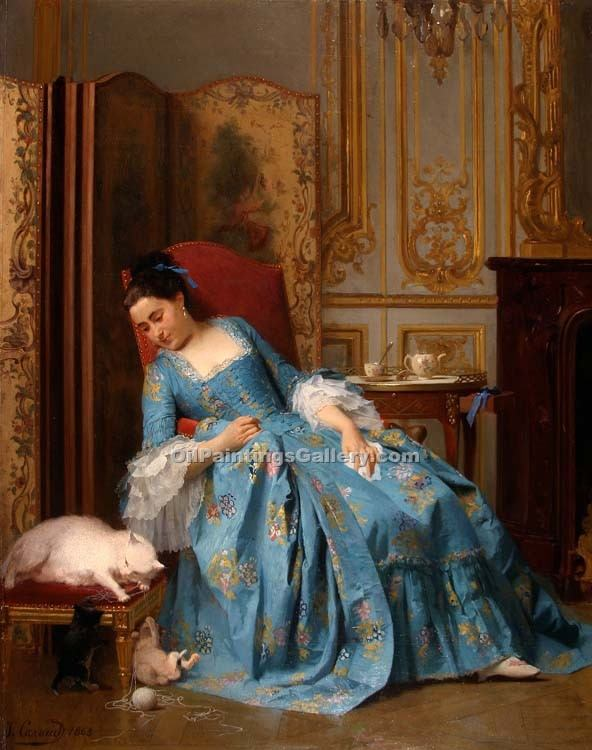 """The Ball of yarn"" by  Joseph Caraud"