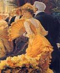 The Ball by  James Tissot (Painting ID: CL-4247-KA)