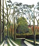 The Banks of the Bievre near Bicetre by  Henri Rousseau (Painting ID: RO-0104-KA)