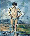 The Bather 00 by  Paul Cezanne (Painting ID: EI-1100-KA)