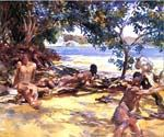 The Bathers 25 by  John Singer Sargent (Painting ID: EI-0425-KA)