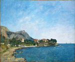 The Bay of Fourmis  by  Eugene Louis Boudin (Painting ID: LA-2402-KA)