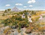 The Bayberry Bush by  William Merritt Chase (Painting ID: ED-1437-KA)