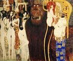 The Beethoven Frieze the Hostile Powers by  Gustav Klimt (Painting ID: EI-1853-KA)