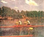 The Biglin Brothers Racing by  Thomas Eakins (Painting ID: EI-0127-KA)