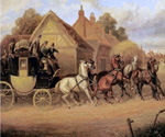 The Blenheim to Oxford Coach by  Samuel Henry Alchen (Painting ID: LA-0441-KA)