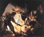 The Blinding of Samson by  Harmenszoonvan Van Rijn Rembrandt (Painting ID: CM-0763-KA)