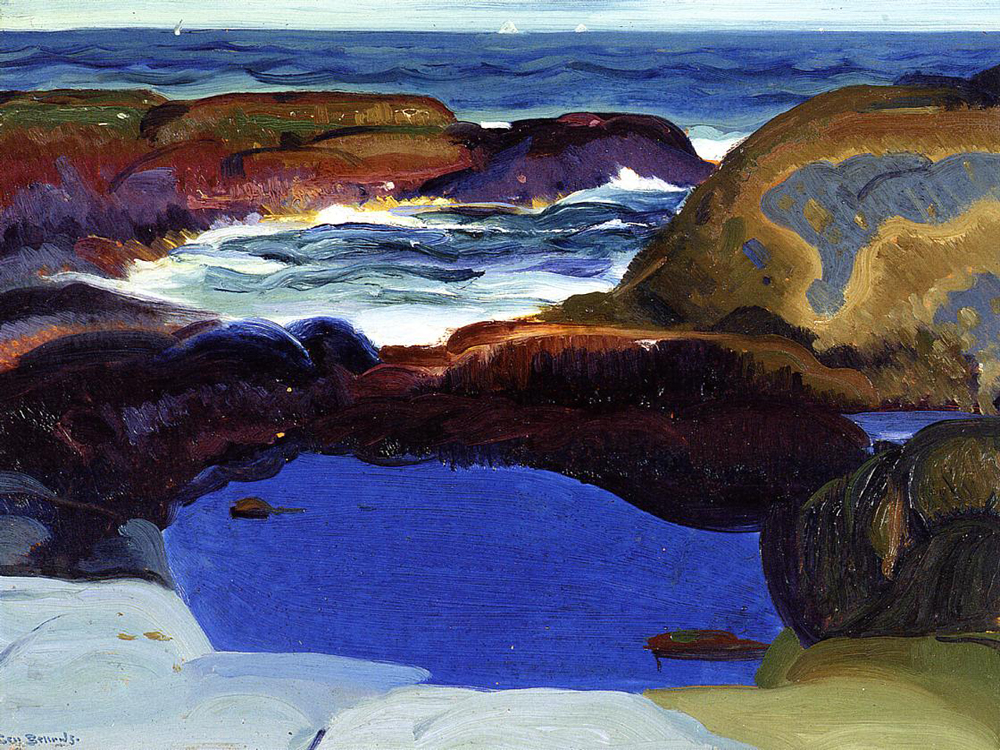 """The Blue Pool"" by  George Bellows"
