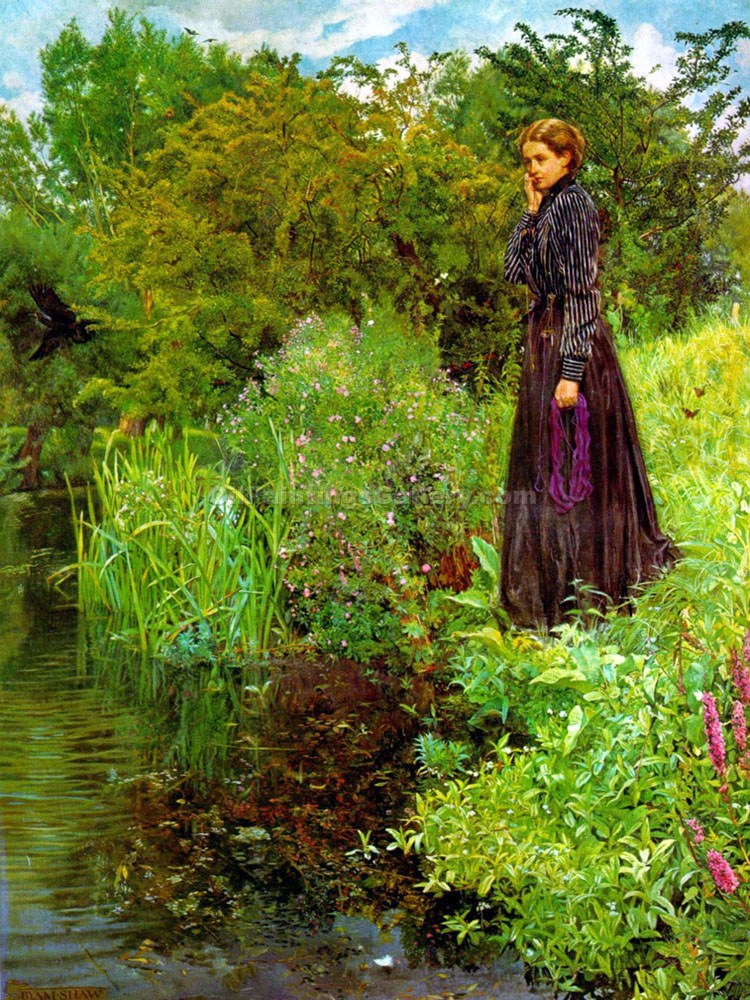"""The Boer War"" by  John Byam Liston Shaw"
