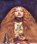 The Bridesmaid by  John Everett Millais (Painting ID: CM-0713-KA)