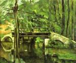 The Bridge of Maincy Near Melun by  Paul Cezanne (Painting ID: MO-1484-KA)