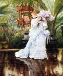 The Bunch of Violets by  James Tissot (Painting ID: CL-4255-KA)