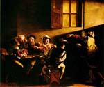 The Calling of St Matthew by    Caravaggio (Painting ID: CM-0631-KA)