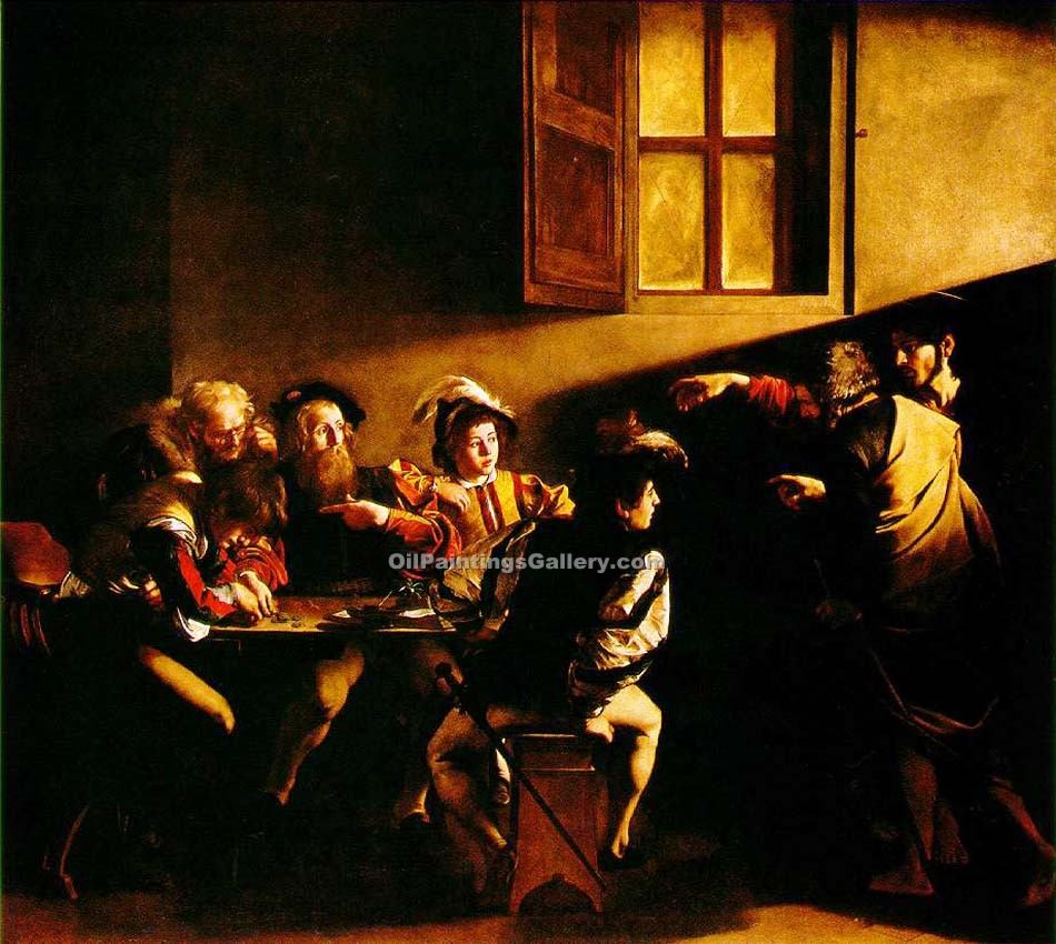 """The Calling of St Matthew"" by    Caravaggio"