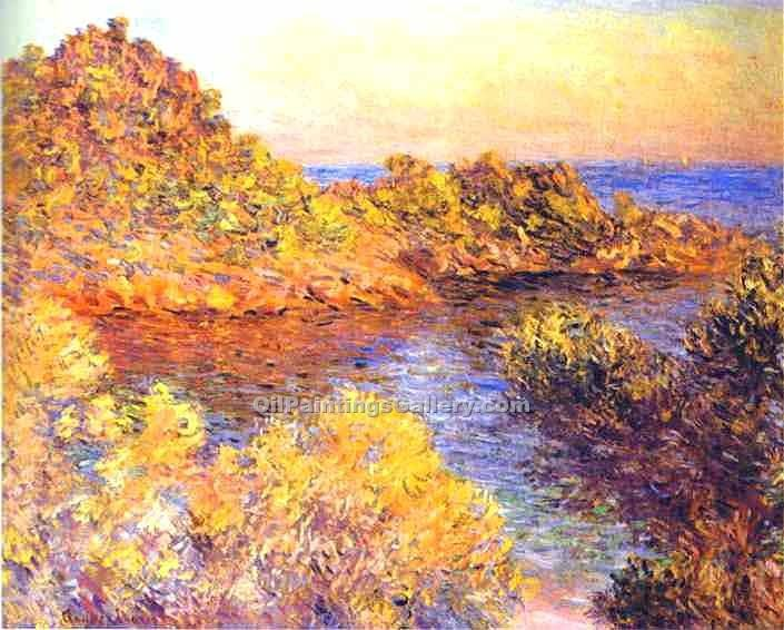 """The Cape Martin"" by  Claude Monet"
