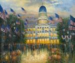 The Capitol Oil Painting (ID: CI-3227-C)