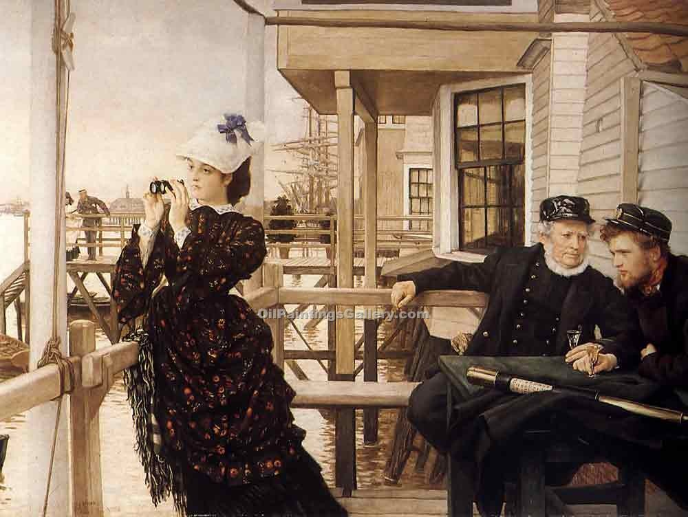 """The Captain Daughter"" by  James Tissot"