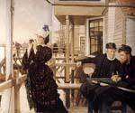The Captain Daughter by  James Tissot (Painting ID: CL-4291-KA)