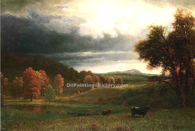"""The Catskills"" by  Albert Bierstadt"