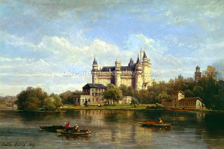 """The Chateau"" by  Pierre Justin Ouvrie"