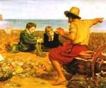 The Childhood  of Walter Raleigh by  John Everett Millais (Painting ID: CM-0746-KA)