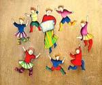 The Children Dancing  (Painting ID: EI-0271-KA)