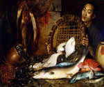 The Chinese Fishmonger by  Theodore Wores (Painting ID: ER-0220-KA)