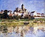 The Church at Vetheuil by  Claude Monet (Painting ID: MO-0905-KA)
