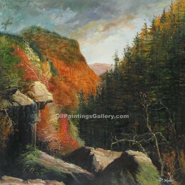 """The Clove Catskills"" by  Thomas Cole"