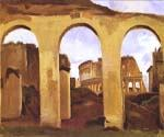 The Colosseum by  Jean Baptiste Corot (Painting ID: CO-0805-KA)