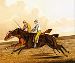 The Commons Racing by  Henry Thomas Alchen (Painting ID: AN-0064-KA)