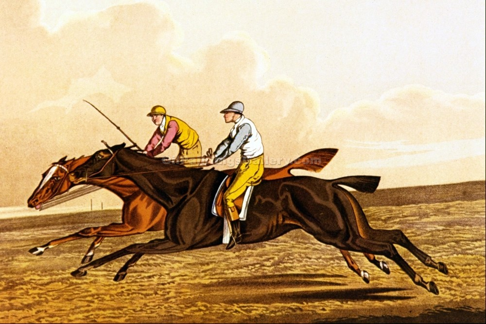 """The Commons Racing"" by  Henry Thomas Alchen"