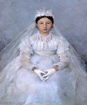 The Communicant by  Jules Bastien Lepage (Painting ID: ED-0270-KA)