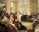 The Concert 44 by  James Tissot (Painting ID: CL-4244-KA)