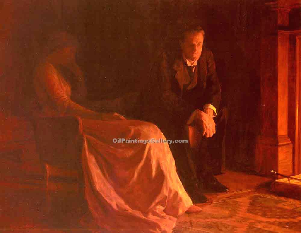 The Confession by Collier John | Paintings For Sale Online - Oil Paintings Gallery