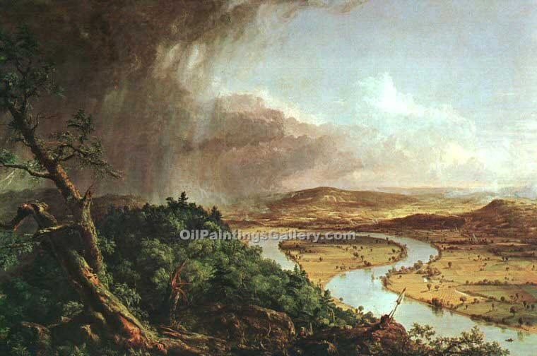 """The Connecticut River Near Northampton"" by  Thomas Cole"