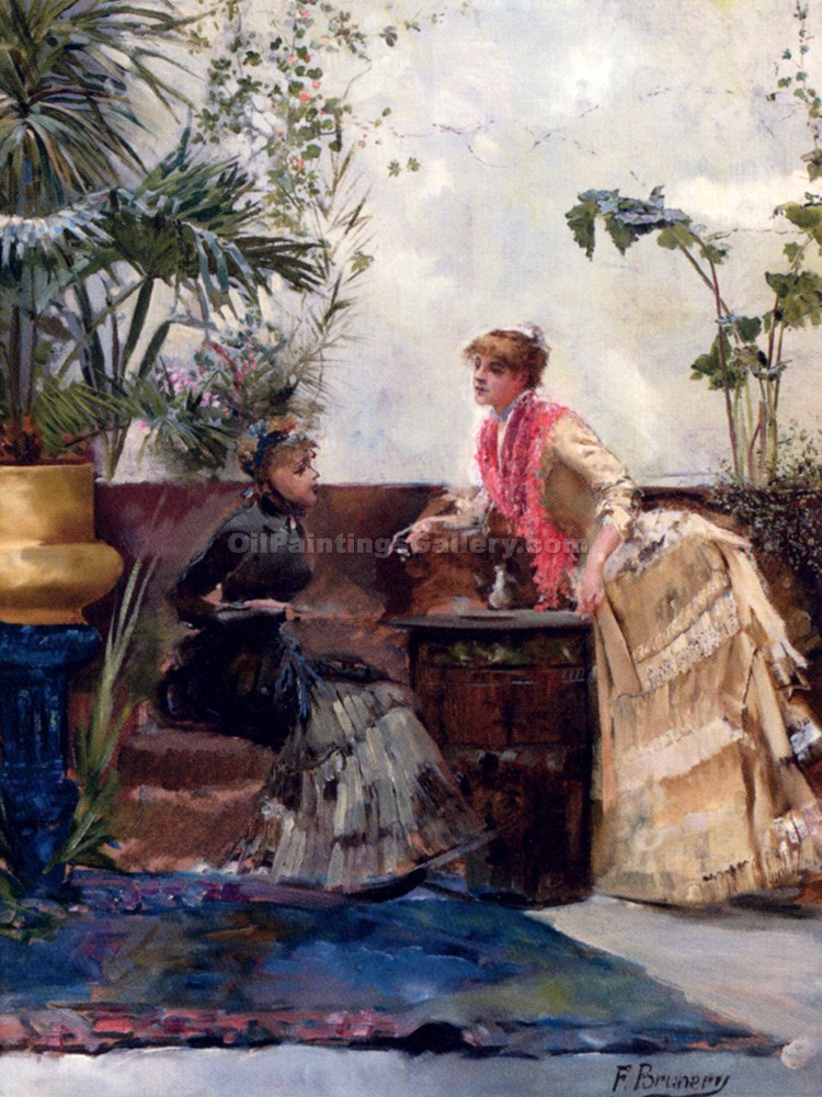 """The Conversation"" by  Francois Brunery"