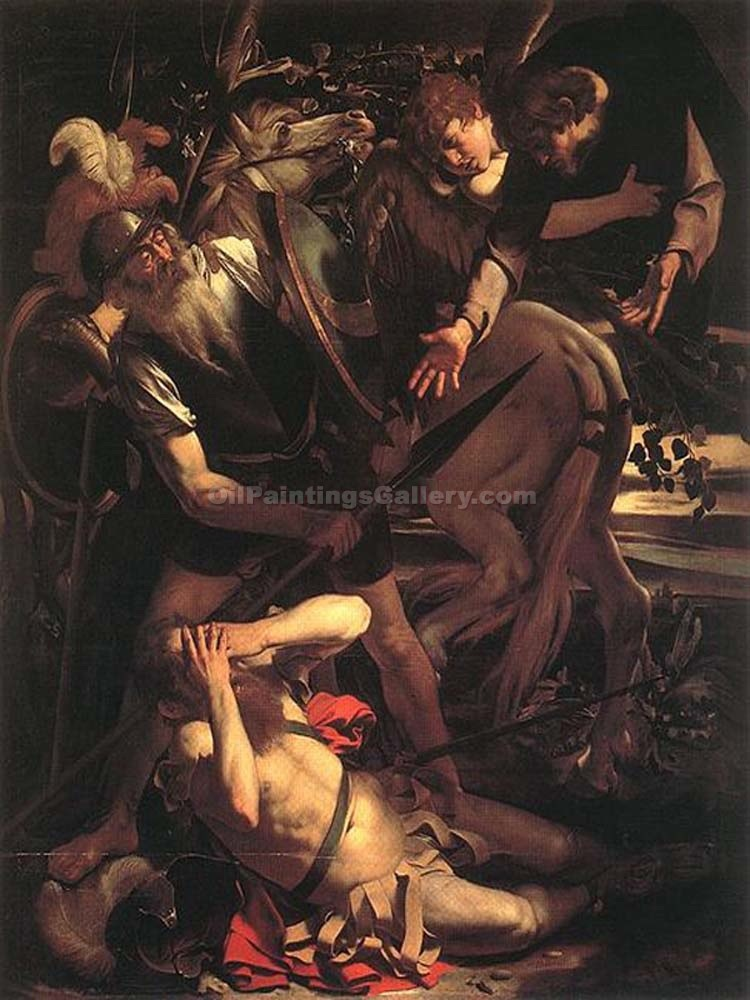 """The Conversion of Saint Paul 64"" by    Caravaggio"