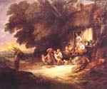 The Cottage Door by  Thomas Gainsborough (Painting ID: CM-3003-KA)